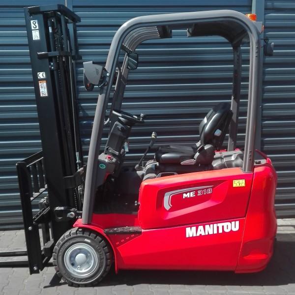 Wózek widłowy elektryczny MANITOU ME 318