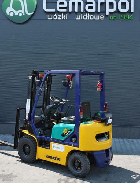 Wózek widłowy używany spalinowy KOMATSU FG10C-16