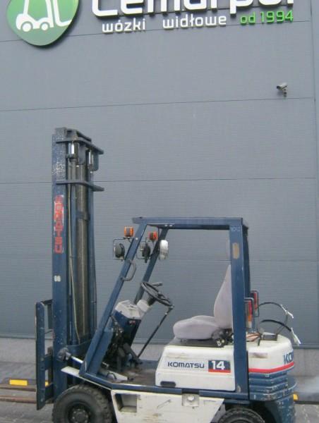 Wózek widłowy używany spalinowy KOMATSU FG14D-15