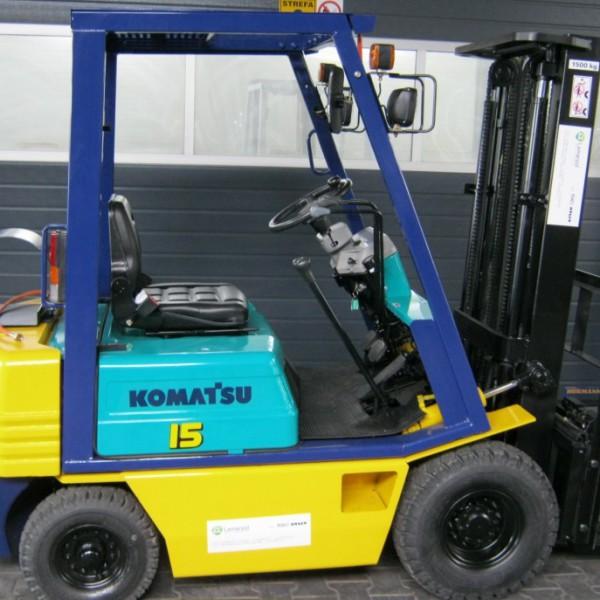Wózek widłowy używany spalinowy KOMATSU FG15L-15