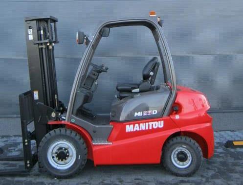 Wózek widłowy spalinowy MANITOU-MI25D1