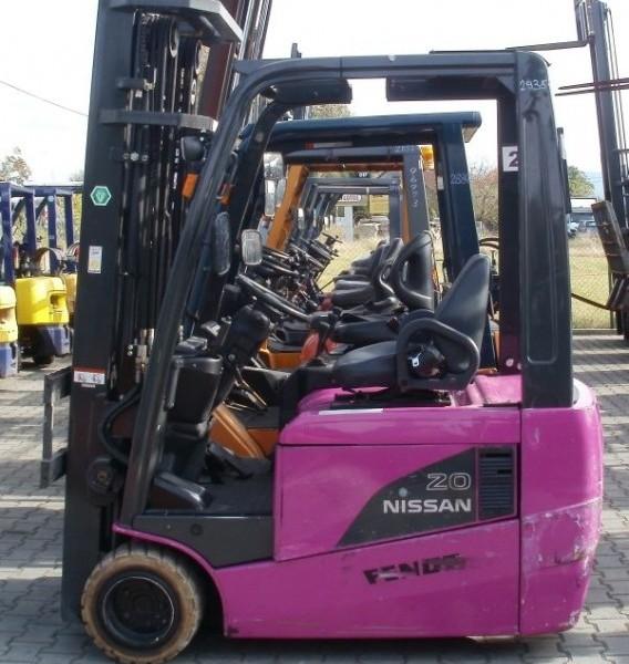 Wózek widłowy używany spalinowy NISSAN G1N1L20Qa