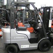 Wózek widłowy używany spalinowy LPG NISSAN NP1F1A15D