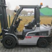 Wózek widłowy używany spalinowy LPG NISSAN UG1F2A35DU