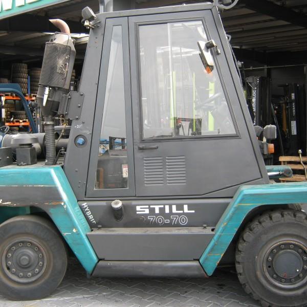 Wózek widłowy spalinowy używany STILL R70-70