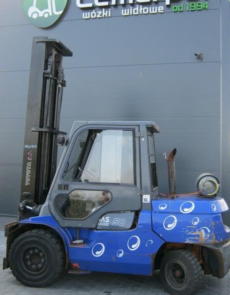 Wózek widłowy używany spalinowy LPG TOYOTA 02-7FGA50