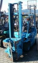 Wózek widłowy używany spalinowy LPG  TOYOTA 02-8FGK25