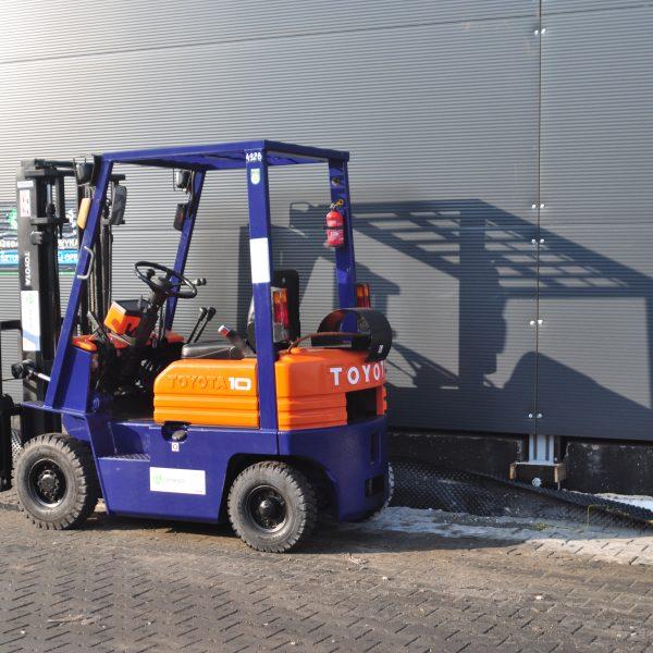 Wózek widłowy używany spalinowy LPG TOYOTA 5FG10