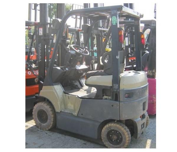 Wózek widłowy używany elektryczny TOYOTA 7FBH15