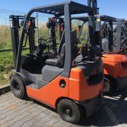 Wózek widłowy używany spalinowy LPG TOYOTA 8FG15