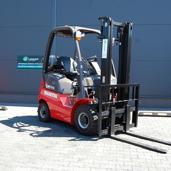 Wózek widłowy spalinowy LPG MANITOU MI15G