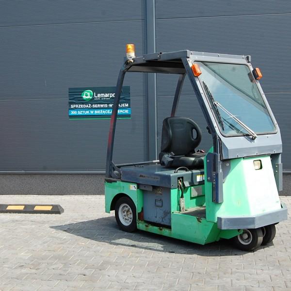 Używany wózek magazynowy elektryczny TOYOTA CBT4 CIĄGNIK