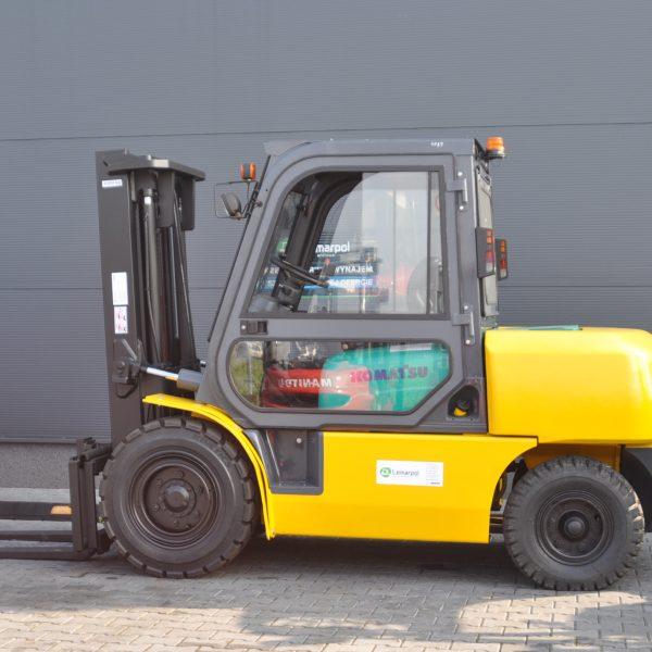 Wózek widłowy używany spalinowy KOMATSU FD40T-8