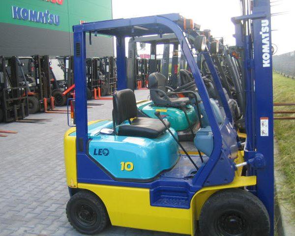 Wózek widłowy używany spalinowy LPG KOMATSU FG10LC-16