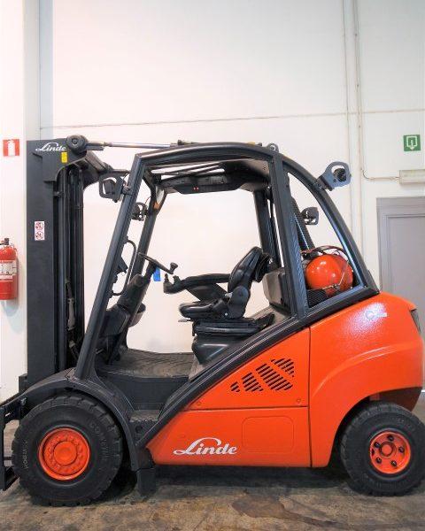 Wózek widłowy używany spalinowy LPG LINDE H35T