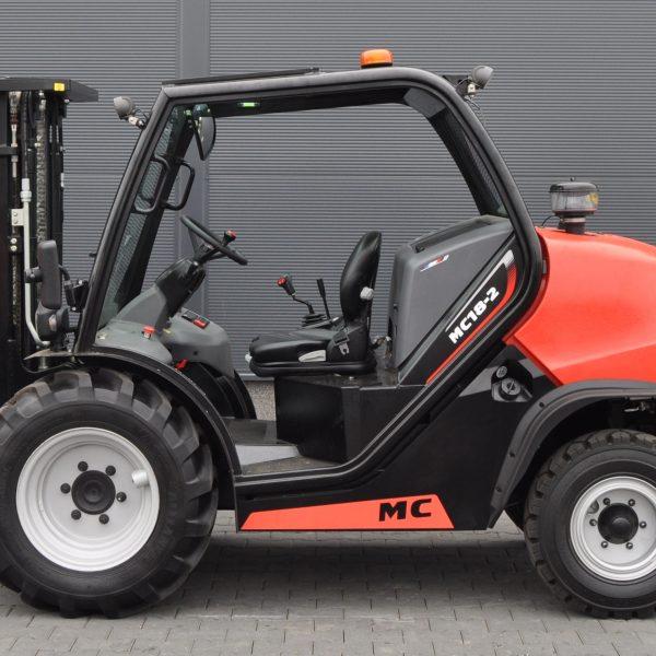 Wózek widłowy terenowy MANITOU MC18-2