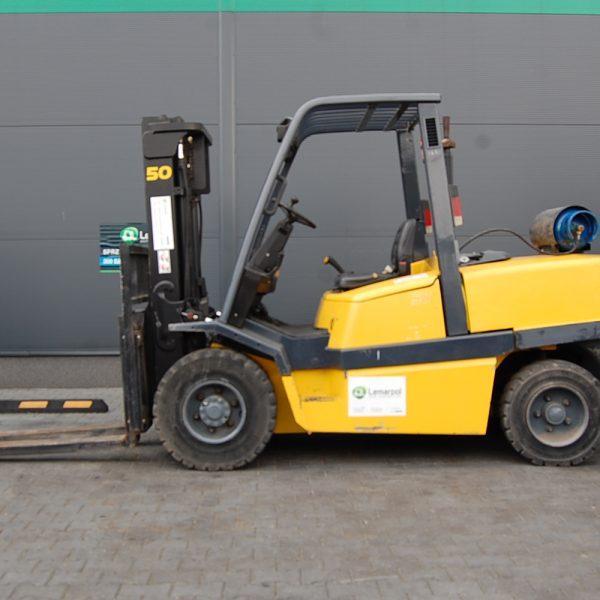 Wózek widłowy używany spalinowy LPG YALE GLP50MJE2814