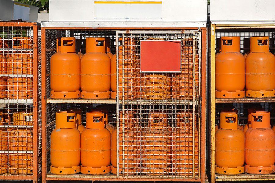 Jak wymienić butlę gazową w zóku widłowym?